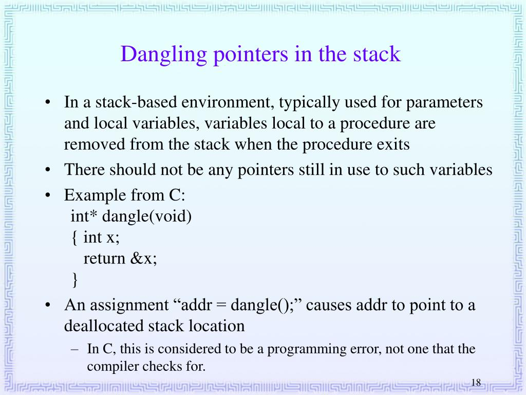 PPT - Compiler Design 27  Runtime Environments: Activation