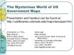 the mysterious world of us government maps37