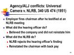 agency alj conflicts universal camera v nlrb 340 us 474 1951