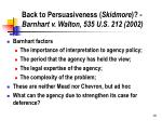 back to persuasiveness skidmore barnhart v walton 535 u s 212 2002