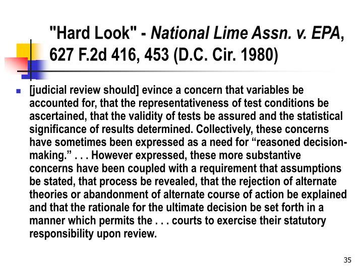"""""""Hard Look"""" -"""
