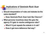 implications of seminole rock auer