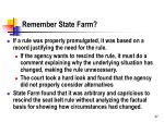 remember state farm