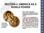 section 4 america as a world power