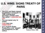 u s wins signs treaty of paris
