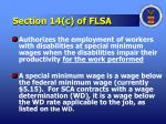 section 14 c of flsa