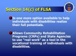 section 14 c of flsa1