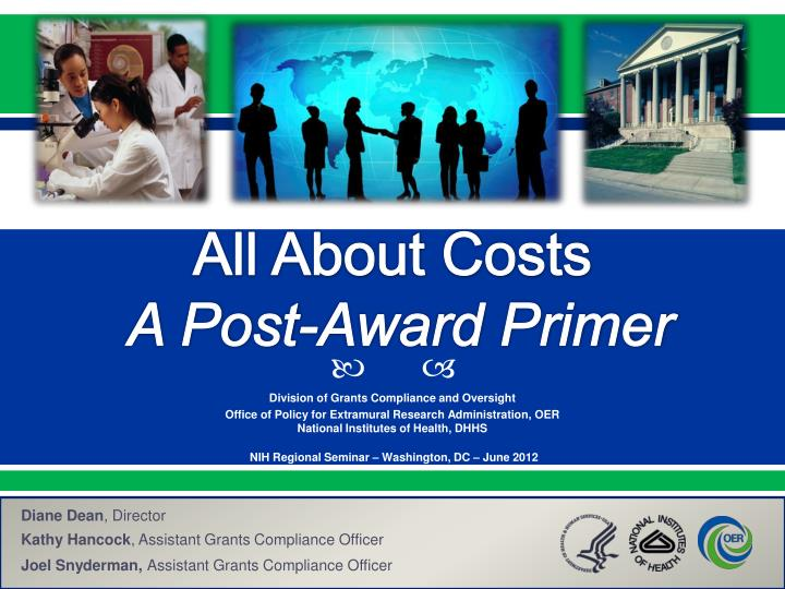 all about costs a post award primer n.