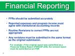 financial reporting1