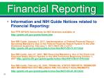 financial reporting2