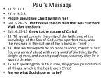 paul s message2