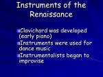 instruments of the renaissance1
