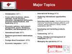 major topics1