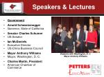 speakers lectures1