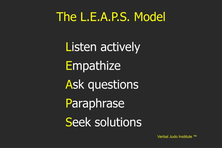 The L.E.A.P.S. Model