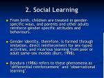 2 social learning