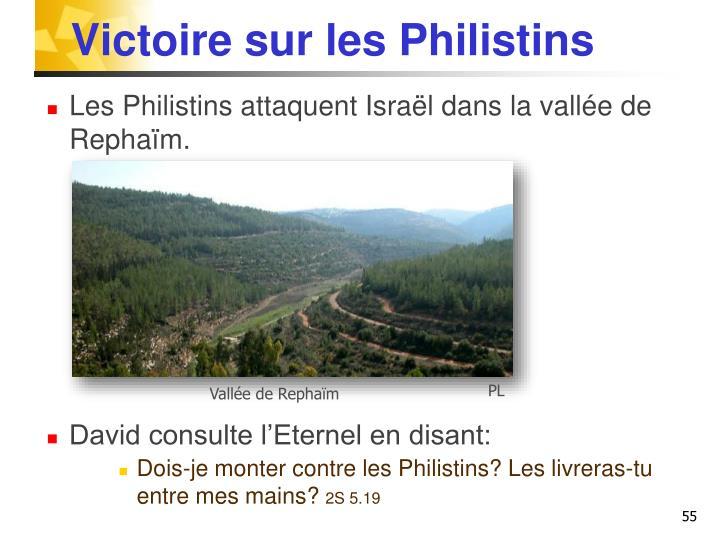 Victoire sur les Philistins