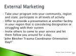 external marketing