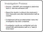 investigation process