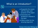 what is an introduction