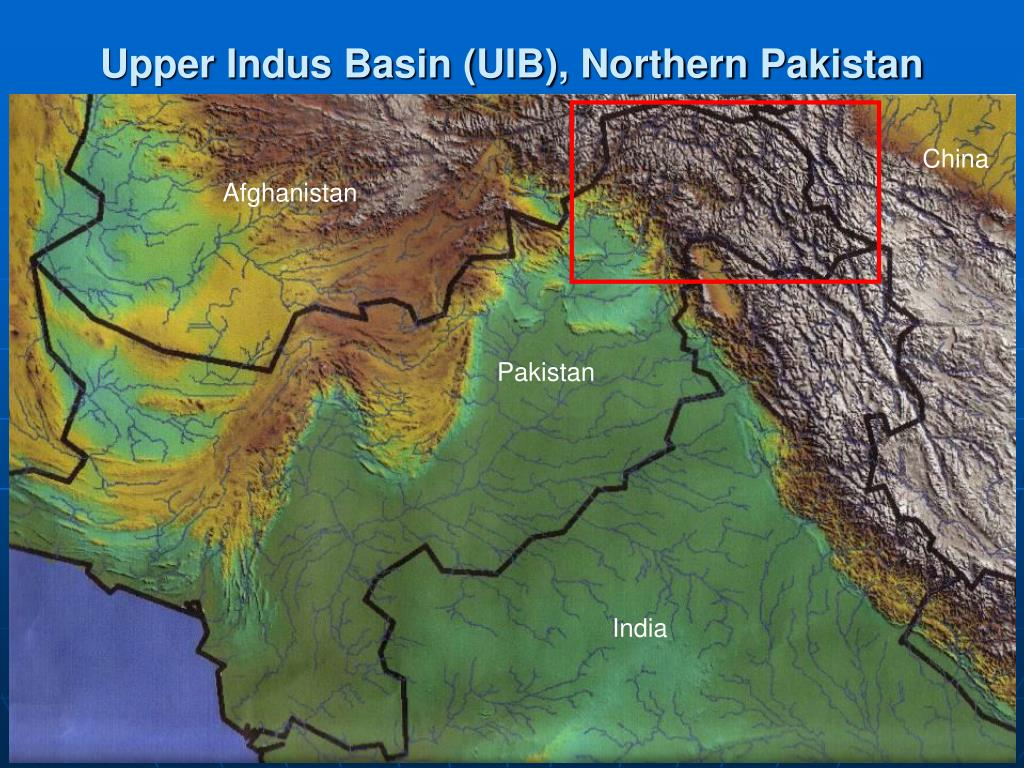 Upper Indus Basin (UIB), Northern Pakistan