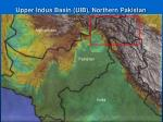 upper indus basin uib northern pakistan