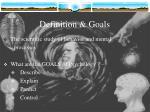 definition goals