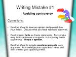 writing mistake 1