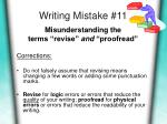 writing mistake 11