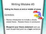 writing mistake 3