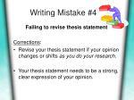 writing mistake 4