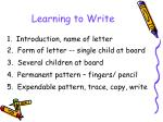 learning to write1