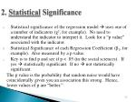 2 statistical significance