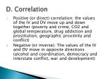 d correlation1