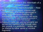 infectious disease in the aftermath of a natural disaster special considerations example mold