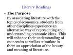 literary readings