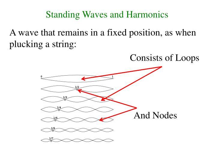 Standing Waves and Harmonics