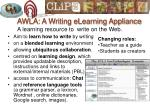 awla a writing elearning appliance a learning resource to write on the web