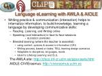 language elearning with awla aiole