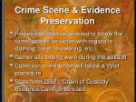 crime scene evidence preservation1