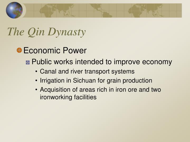 The qin dynasty1