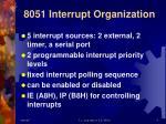 8051 interrupt organization