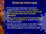 external interrupts1