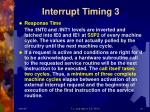 interrupt timing 3