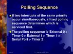 polling sequence