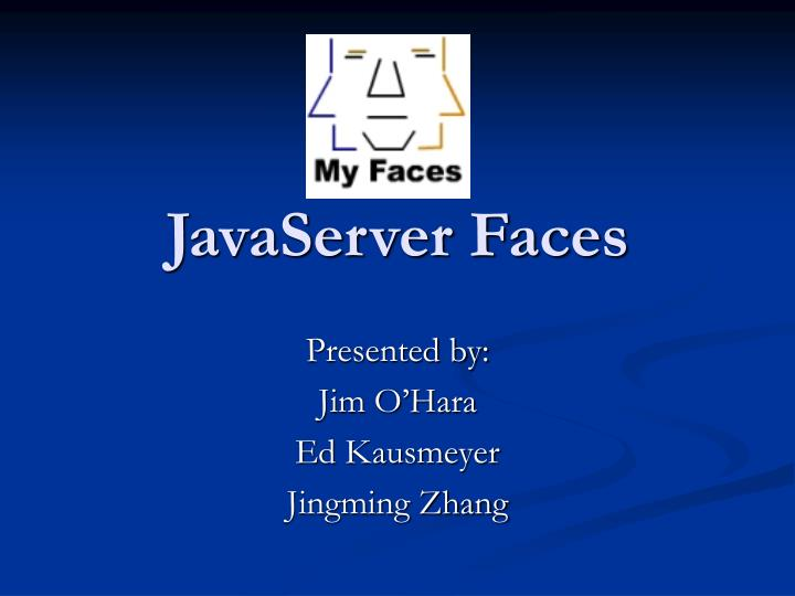 javaserver faces n.