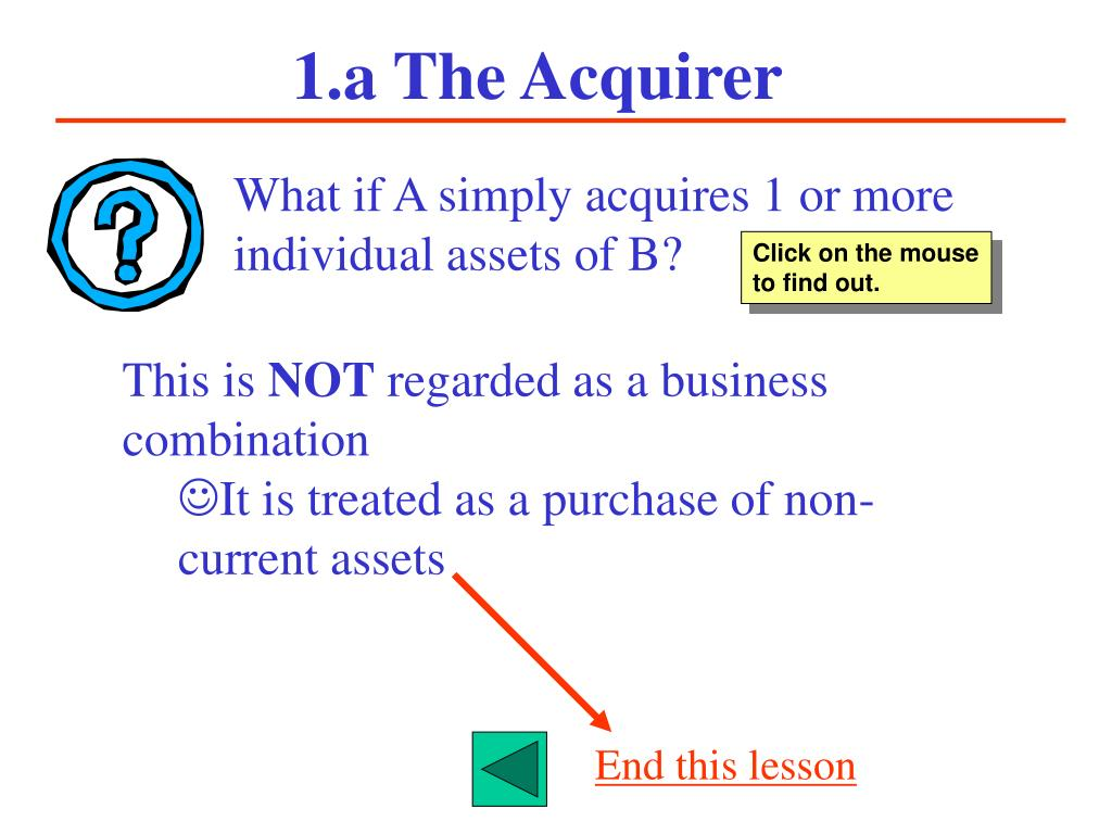 1.a The Acquirer