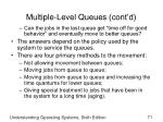 multiple level queues cont d2