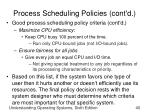 process scheduling policies cont d2
