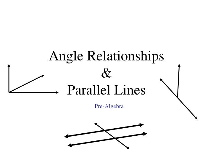 angle relationships parallel lines n.